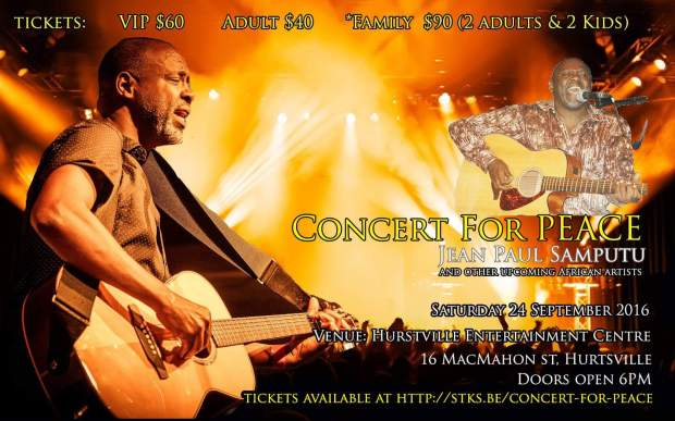 Concert for Peace Flyer